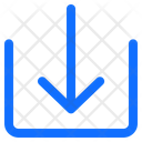 Download Arrow Down Icon