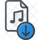 Download File Audio Icon