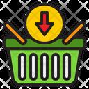 Download Basket Basket Sale Icon