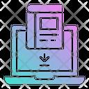 Ebook Library Download Icon