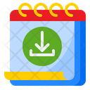Download Calendar Icon