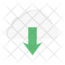 Cloud Database Download Icon