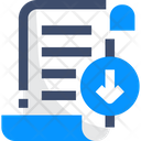 Download Document Save Document Download File Icon