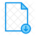 Download File Page Icon