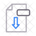 File Download Save Icon