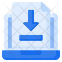 Upload Download File Icon