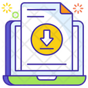 Download File Save Data Download Document Icon
