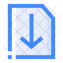 Download File Downloading Download Document Icon