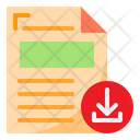 Download Format Files Icon