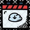 Download File Calendar Date Icon