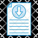 File Download Records Icon