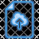 Download File Cloud Down Arrow Icon