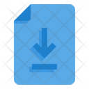 Download File Direct Download Down Arrow Icon