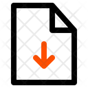 Download File Download Arrow Icon