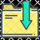 Download File Download Folder Download Document Icon