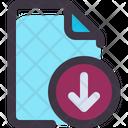 File Document Download Icon