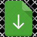 Download File Document Icon