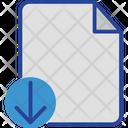 Document Download File Icon