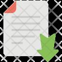Data Downloading File Icon