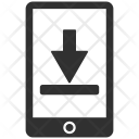 Mobile Download Arrow Icon