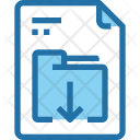 Download File Document Icon