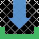 Download File Down Icon