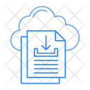 Download files from cloud Icon