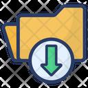 Download Folder Download File Save Folder Icon