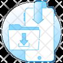 Download Folder Data Downloading App Downloading Icon