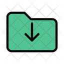 Folder Directory Download Icon