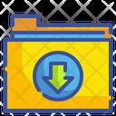 Download Folder Save Folder Save Icon