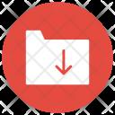 Files Folder Download Icon