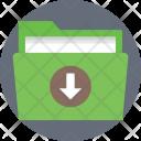 Downloading Folder File Icon