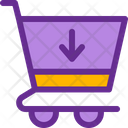 Download from cart Icon