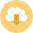 Icloud Download Cloud Icon