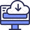 Download Cloud Computer Icon
