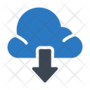 Download From Cloud Icon