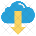 Cloud Download Finance Icon