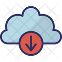 Download Cloud Download Cloud Network Icon