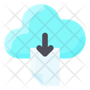 Internet Technology Download From Cloud Cloud Download Icon