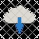 Cloud Download Cloud Computing Cloud Data Icon