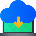 Download From Cloud Download Cloud Data Download Data Icon