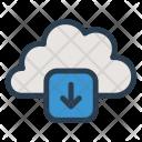 Cloud Download Server Icon