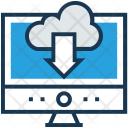 Download Data Cloud Icon