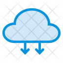 Download From Cloud Cloud Network Icon