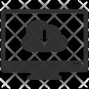 Computer Destop Download Icon
