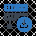 Server Download Database Icon