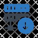 Database Download Server Icon