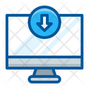 Download in computer Icon
