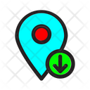 Location Time Email Icon